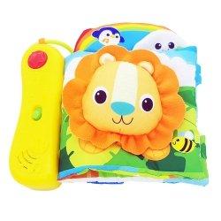 Smily Play sensoryczna książeczka dżungla
