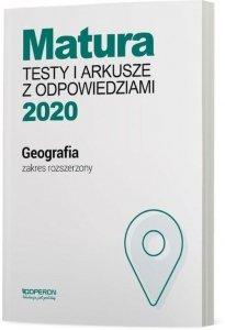 Geografia Matura 2020 Testy i arkusze z odpowiedziami Zakres rozszerzony
