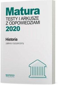 Historia Matura 2020 Testy i arkusze z odpowiedziami Zakres rozszerzony