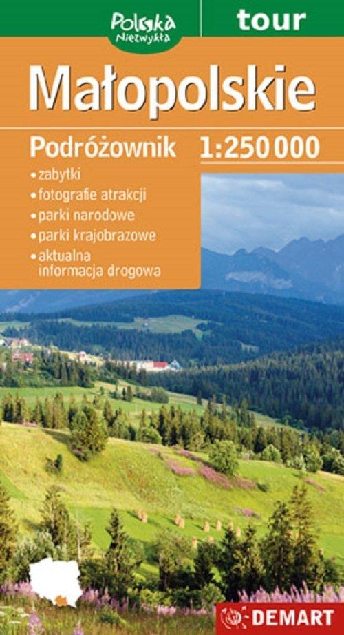 Małopolskie podróżownik mapa turystyczna
