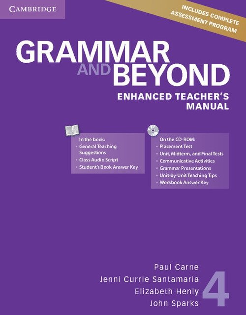 Grammar and Beyond 4 Enhanced Teacher's Manual with CD-ROM