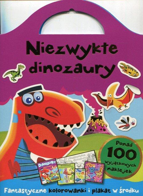 Niezwykłe dinozaury Fantazyjne kolorowanki