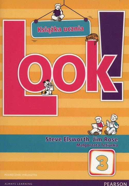 Look! 3 Podręcznik wieloletni + CD