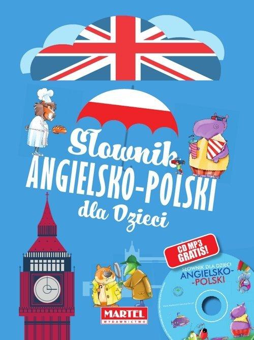 Słownik angielsko-polski dla dzieci + CD