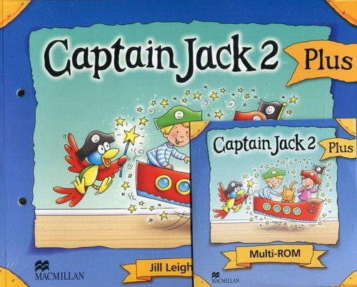 Captain Jack 2 Plus Podręcznik z płytą CD