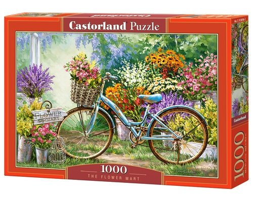 Puzzle 1000 The Flower Mart