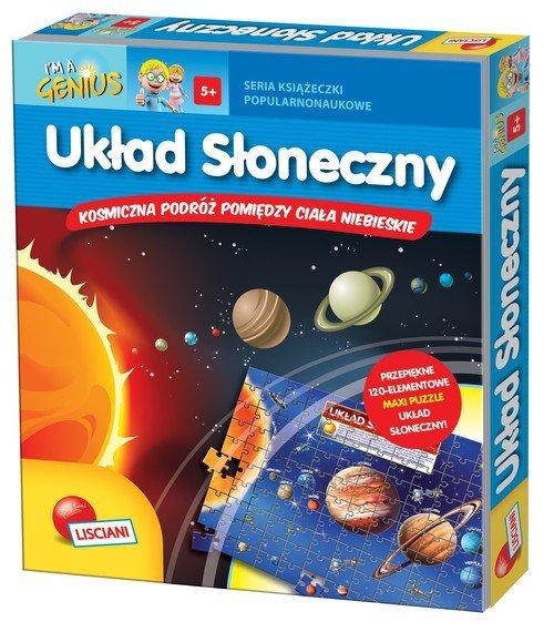 I'm a Genius Układ Słoneczny Książeczka + puzzle