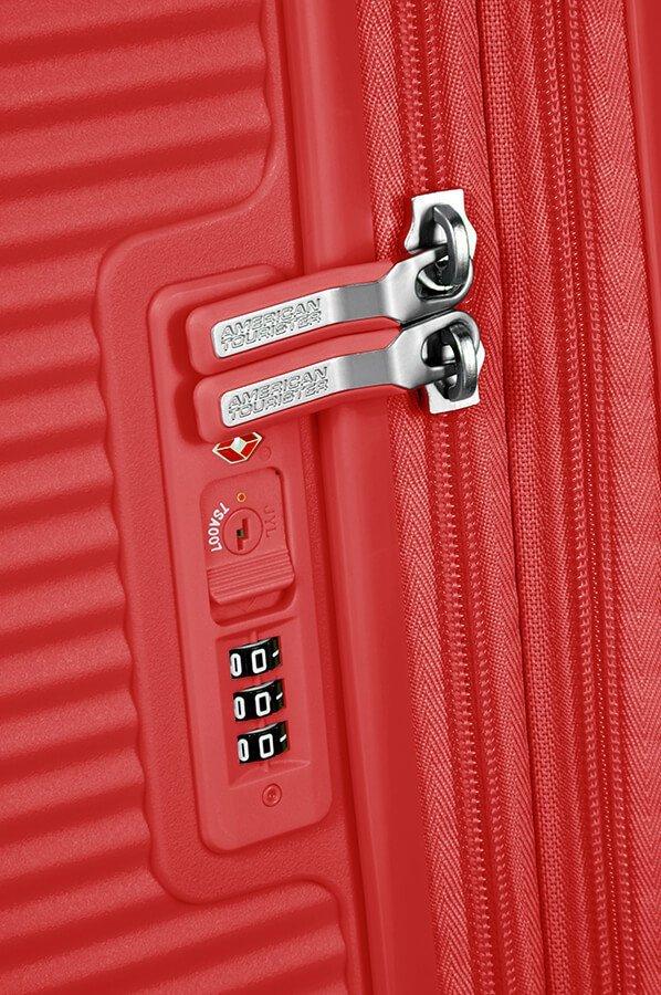 Walizka podręczna SOUNDBOX-SPINNER 55/20 TSA EXPcoral red