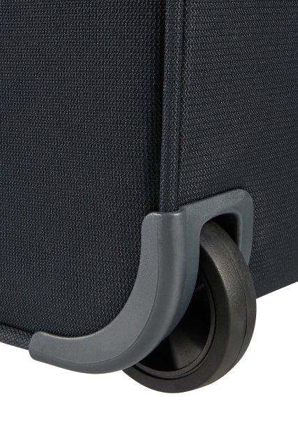 Bagaż posiada dwa wbudowane mocne koła