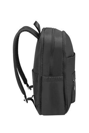 Plecak posiada boczne  kieszenie idealne na małą butelkę wody, regulowane szelki oraz górny uchwyt