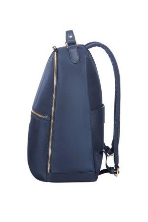 Plecak posiada górny uchwyt oraz regulowane szelki