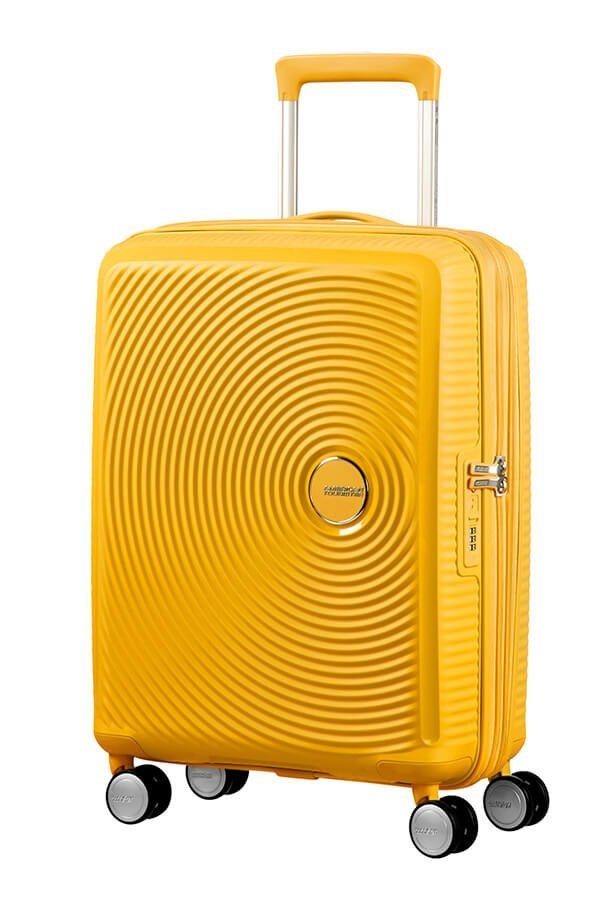 Walizka podręczna SOUNDBOX-SPINNER 55/20 Golden yellow TSA EXP