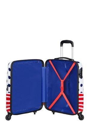 Bagaż podręczny DISNEY LEGENDS SPIN.55/20 ALFATWIST 2.0 MINNIE BLUE DOTS