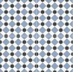 Halcon Durham Blue Pre Cut 45x45