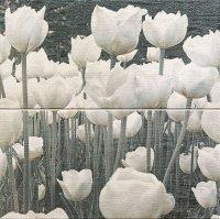 Sabaudia Flower Dekor 2-elementowy 2x 22,3x44,8