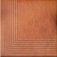 Solar Orange Steptread Corner 3d 30x30