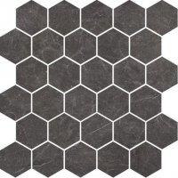Imperial Graphite Mozaika Heksagon 27x27