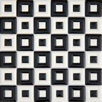 Flash Black & White Mozaika MC-04 30x30