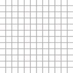 Albir Bianco Mozaika 30x30 kostka 2,3x2,3