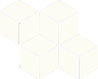 Mozaika Bianco Romb Hexagon 20,4x23,8