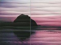 Maxima Violet 1 Obraz 6 elementowy 89,8x67,3