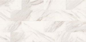Marble Charm White Glossy Geo 29x59,3