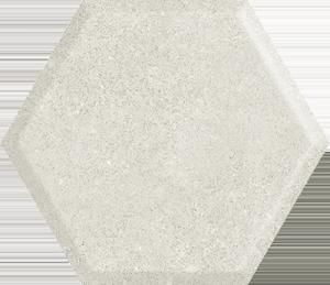 Woodskin Grys Heksagon Struktura A 19,8x17,1