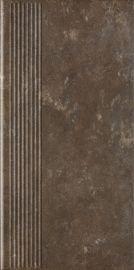 Ilario Brown Stopnica Prosta 30x60