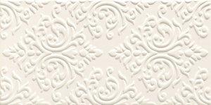Delice White STR Dekor 44,8x22,3