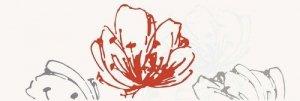 Midian Grys Inserto Kwiat 20x60