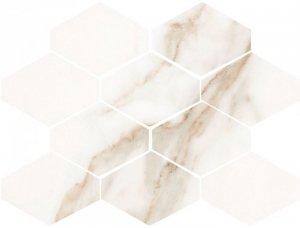 Ceramika Color Statuario Gold Mosaic 17,5x23