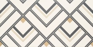 Bonella White Dekor 60,8x30,8