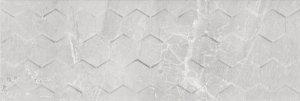 Ceramika Końskie Malaga White Hexagon Rect. 25x75