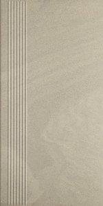 Paradyż Rockstone Grys Stopnica Prosta Nacinana Mat 29,8x59.8