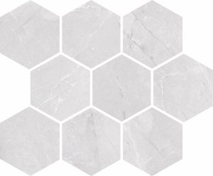 Ceramika Końskie Braga White Mosaic 23,5x28,6