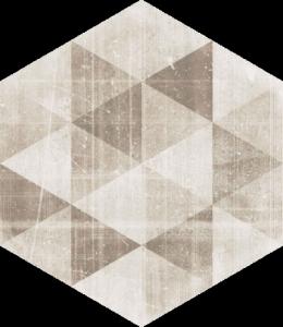Hexx Universum Motyw Crema Heksagon 26x26