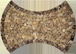 Mozaika Kamienna Puzzle Dark MK-18 40x28