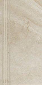 Teakstone Bianco Stopnica 30x60