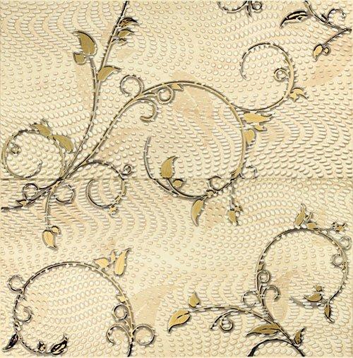 Traviata Dekor 2-elementowy Ornament 61,8x60,8