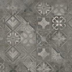 CERRAD gres softcement graphite decor patchwork rect. 597x597x8 g1 m2