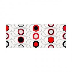 CERAMIKA KONSKIE red circles inserto 20x50
