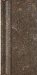 PARADYZ PAR ilario brown stopnica prosta 30x60 g1 m2