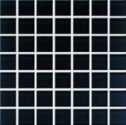 CERAMIKA KOŃSKIE Domenico black glass mosaic 20x20 G1. pcs