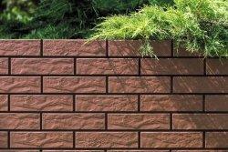 CERRAD elewacja burgund rustiko 245x65x6,5 g1 m2.