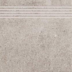 CERAMIKA KONSKIE leo grey stopnica 33,3x33,3 szt.