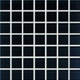 CERAMIKA KONSKIE domenico black glass mosaic 20x20
