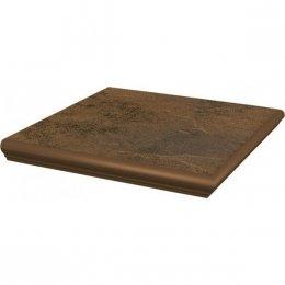 PARADYZ semir beige kapinos stopnica narożna 33x33 g1 szt.