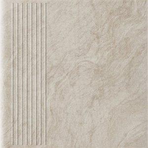 PARADYZ unite beige stopnica prosta 30x30 g1
