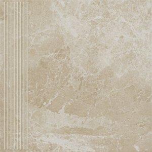 PARADYZ track beige stopnica prosta 30x30 g1