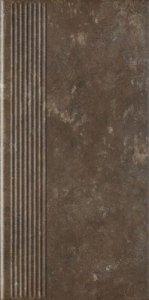 PARADYZ ilario brown stopnica prosta 30x60 g1